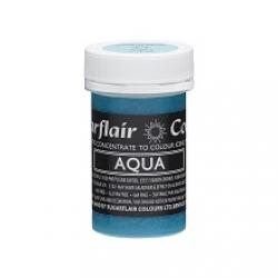 Aqua Spectral Concentrated Pastel Paste Colour - by Sugarflair.